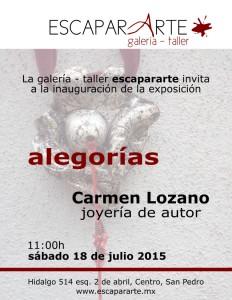 INVITACION Carmen Lozano