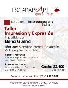 INVITACION Impresión y Expresión