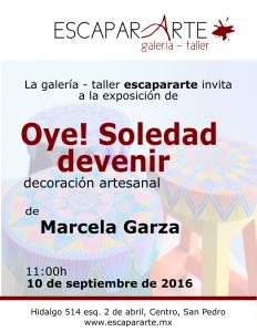 INVITACION Marcela Garza