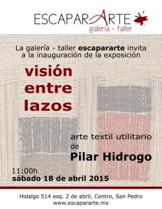 INVITACION Pilar Hidrogo