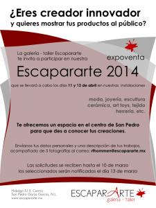 Poster Expo Venta 2014